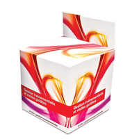 Dry Tissue, Cube with Header, Large size