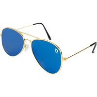 Flat Front Aviator Sunglasses
