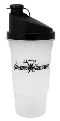 20 oz. Sports Shaker Bottle with Removable Blending Strainer