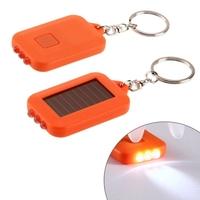 iBank®Solar LED Flashlight Keychain