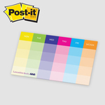 "Post-it® Custom Printed Organizational Notes - 10"" x 6"""