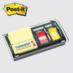 Post-it (R) Custom Printed Pop-Up Note & Flag Dispenser