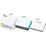 Post-it® Custom Printed Notes Half Rectangle Cube