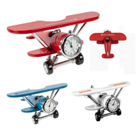 Mini Airplane Clock