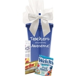 Teachers Are Awesome Snack Tumbler