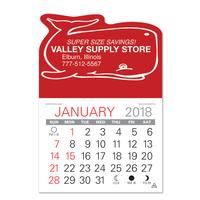 Whale Shaped Value Stick Calendar