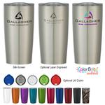 Stainless Steel Tumbler Cup - 18 oz. Drinkware Mug