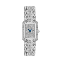 Ladies' Bulova Crystal Accent Watch with Rectangle Dial Watc