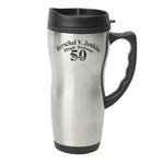 16 Oz Contour Stainless Steel Mug
