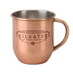 Copper Color Plated Stainless Steel Moscow Mule Style Mug