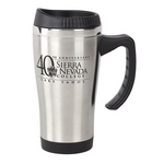 16 Oz Double Wall Stainless Steel Travel Mug