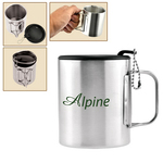 10 OZ Double Wall Stainless Steel Camping Cup