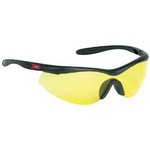 Single-Piece Lens Wrap-Around Safety Glasses / Sun Glasses