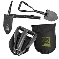 Mini 2-In-1 Tri-Fold Shovel & Pick