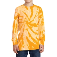 Port & Company Youth Tie-Dye Long Sleeve Tee