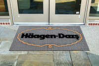 Flocked Front Runner Door Mat
