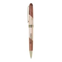 Wood Two Tone Ballpoint Pen