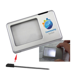 LED Lighting Magnifier W/Pen