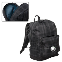 Plaid Laptop Backpack