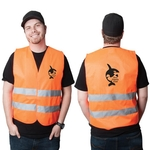 High Viz Medium Safety Vest