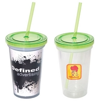 500 ML. (17 OZ.) Double Wall Removable Tumbler