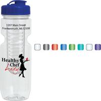 26 oz. Translucent Jogger Bottle w/ Infuser