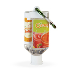 1.9oz Duo Bottle w/Beaded Gel Hand Sanitizer/SPF 15 Lip Balm