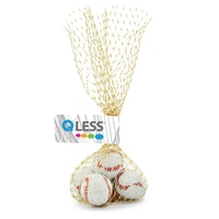 Mesh Bag with Chocolate Sports Balls Basketballs Candy