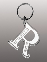 Acrylic Keychains with Laser Etching