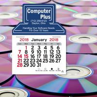 Computer Shaped Peel-N-Stick (R) Calendar