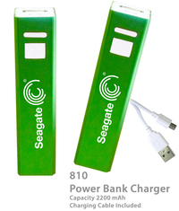 Superior 2200 mAh Power Bank Portable Charger E810-Green