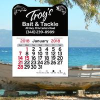 Fish Peel-N-Stick (R) Calendar