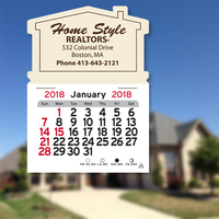 House Shaped Magnetic Calendar