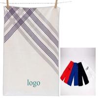 Microfiber absorbent golf towel
