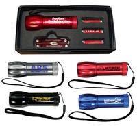 Mega Might LED Flashlight with Multi-Function Tool Set
