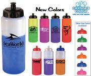 32 oz. Mood Sports Bottle with Push 'n Pull Cap - BPA - Free