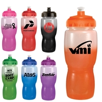18 Oz. Mood Poly-Saver Mate Bottle With Push 'N Pull Cap
