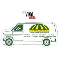 Stock Shaped Magnets - Van