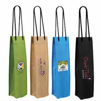 NW Single Wine Bottle Bag, Full Color Digital