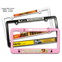 License Plate Frame-4Holes,Full Color Digital