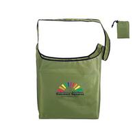 RPET Fold-Away Sling Bag, Full Color Digital