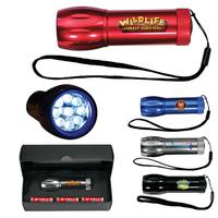 Mega Might LED Metal Flashlight, Full Color Digital