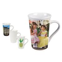 16 oz. White Latte Mug - Matte