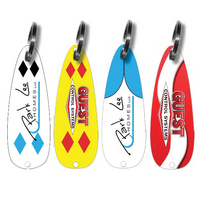 Bait FX Fishing Lure Keychain