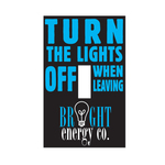 "Light Switch Cover Skin (2 1/2"" x 4"")"