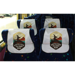 Full Color Convention Bus Headrest Cover