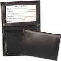 Leather Card Case with Gusset Pocket