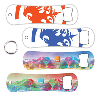 Snowboard Keychain Bottle Opener