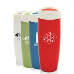 14 oz Pearl Vacuum Travel Mug w/ Touch Stopper