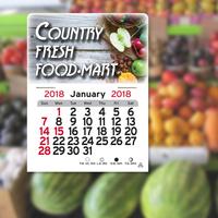 ColorRich (TM) Peel-N-Stick(R) Calendar